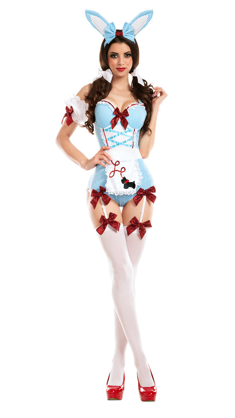 Party King Women's Kansas Cosplay Bunny Costume Womens Adult Sized Costumes - Nastassy