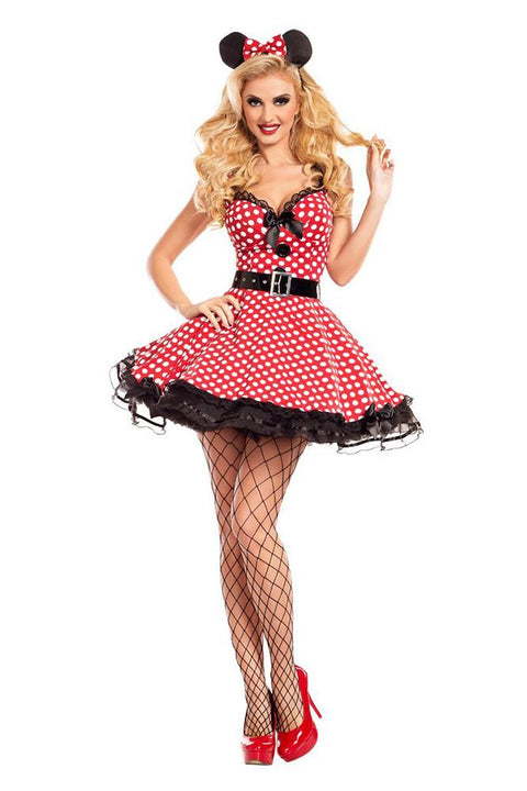 Party King Women's Missy Mouse Costume Womens Adult Sized Costumes - Nastassy
