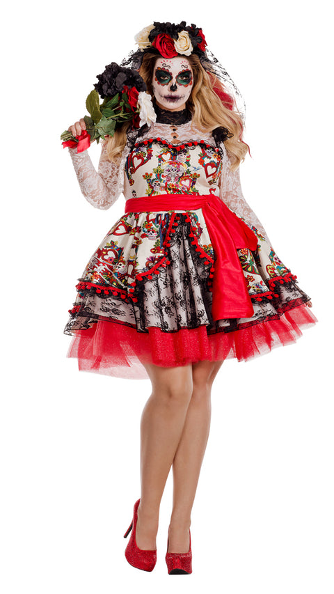 3012b0cf7 Party King Women s La Novia Plus Size Costume Womens Adult Sized Costumes -  Nastassy