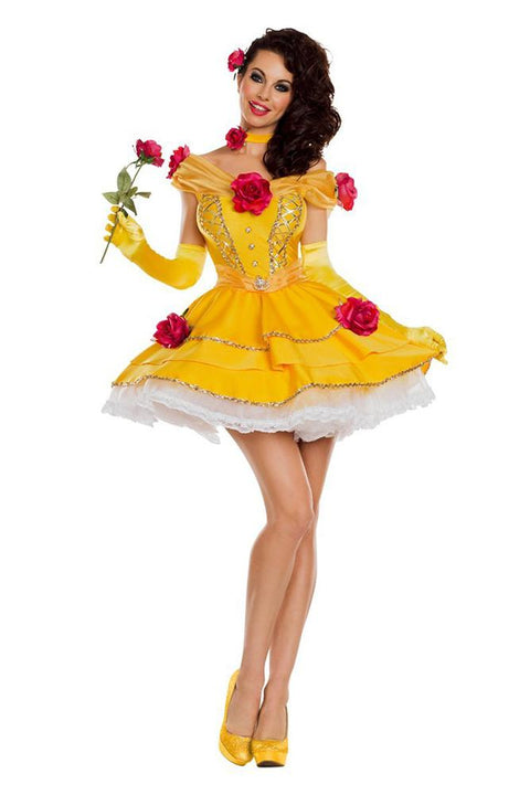 Party King Women's Belle of the Ball Costume Womens Adult Sized Costumes - Nastassy