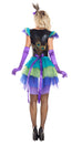 Party King Regal Peacock Womens Costume Womens Adult Sized Costumes - Nastassy