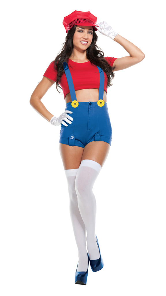 Starline Women's Red Player Costume Womens Adult Sized Costumes - Nastassy