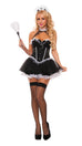 Starline Women's Park Ave Maid Costume Womens Adult Sized Costumes - Nastassy