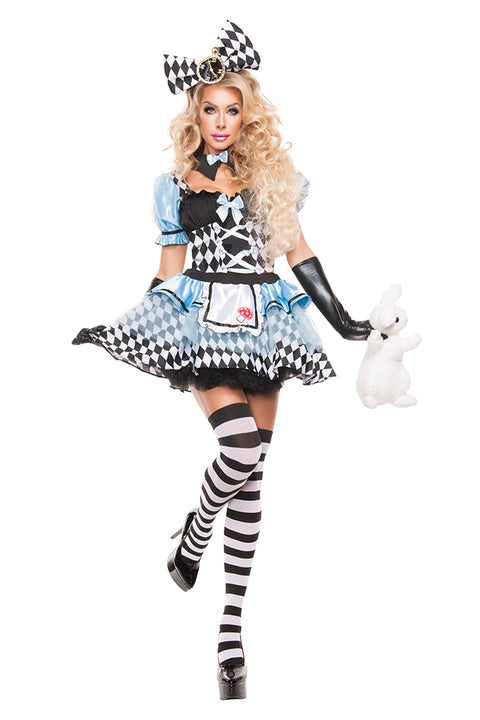 Starline Women's Glam Alice Costume Womens Adult Sized Costumes - Nastassy