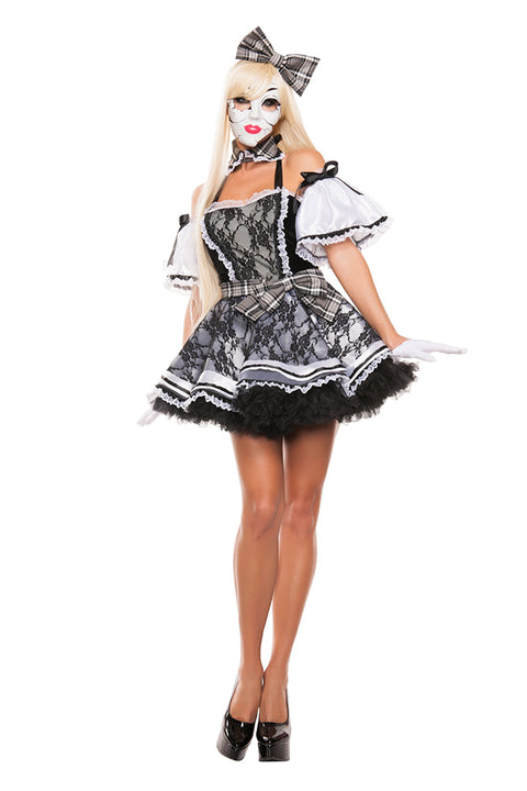 Starline Women's Play With Me Doll Costume Womens Adult Sized Costumes - Nastassy