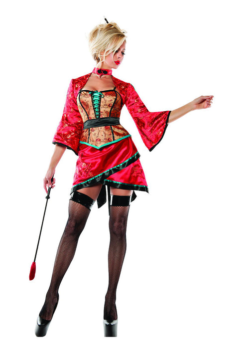 Starline Women's Pleasing Geisha Costume Womens Adult Sized Costumes - Nastassy