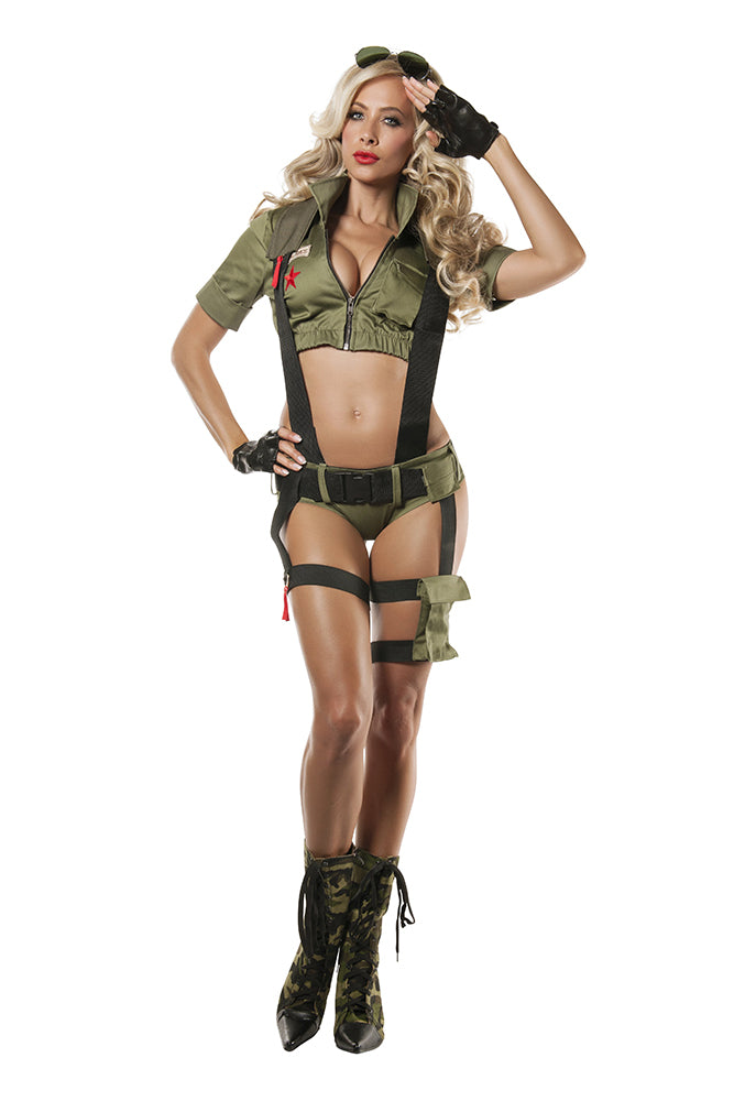 Paratrooper Penny Womens Costume