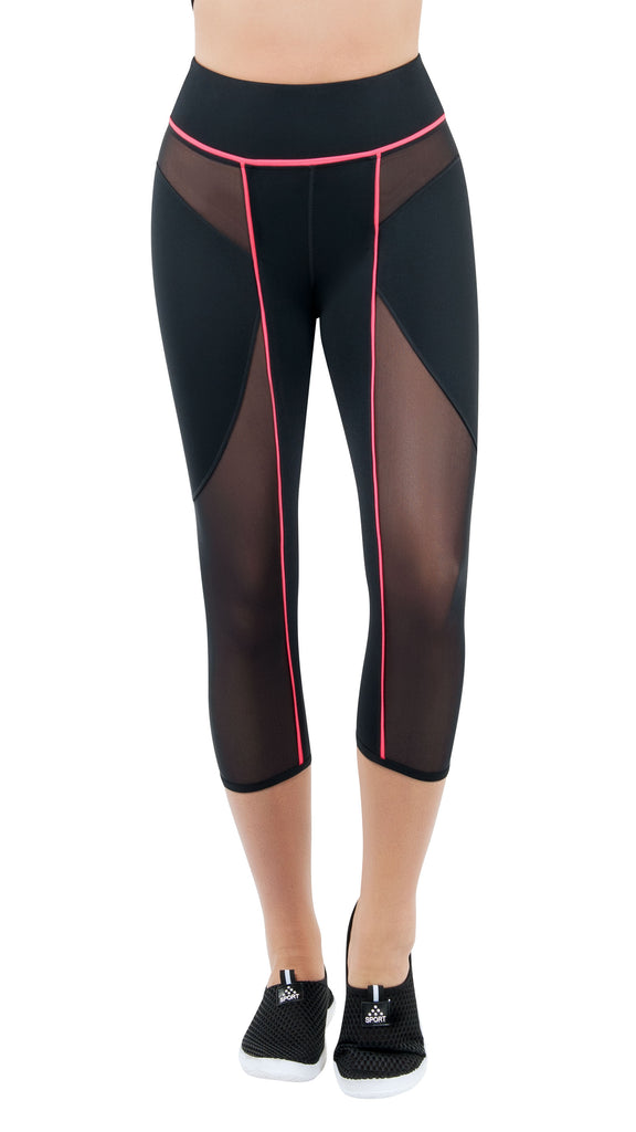 Starline Enlighten Yoga Capri Yoga Leggings - Nastassy