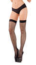 Starline Back Seam Fishnet Thigh Highs Womens Adult Exotic Hosiery - Nastassy