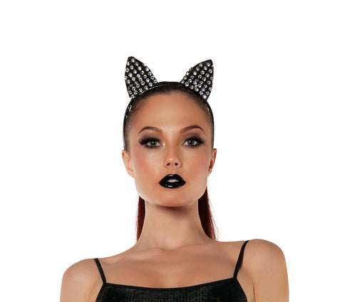 Starline Women's Sparkle Kitty Cat Ears Headband Accessory Womens Costume Accessories - Nastassy