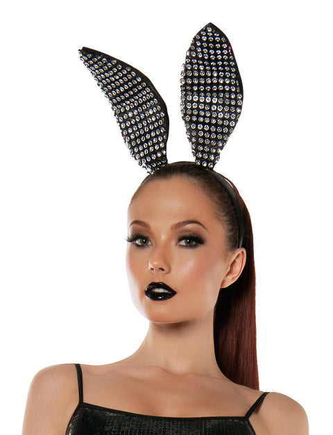 Starline Women's Sparkle Bunny Ears Headband Accessory Womens Costume Accessories - Nastassy