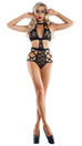 Starline Le Fleur Strapped Up Teddy Playsuit Womens Adult Exotic Lingerie Sets - Nastassy