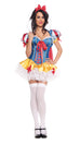 Starline Women's Snow White Deluxe Costume Womens Adult Sized Costumes - Nastassy