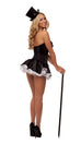 Starline Women's Tuxedo Girl Costume Womens Adult Sized Costumes - Nastassy