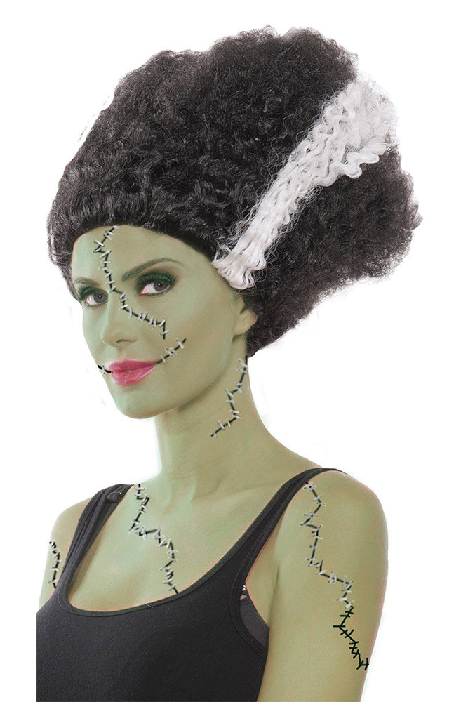Party King Women's Monster Bride Costume Wig Womens Costume Wigs - Nastassy