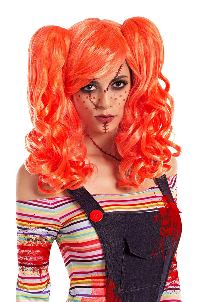 Party King Killer Doll Costume Wig Womens Costume Wigs - Nastassy