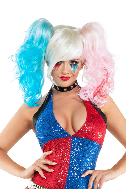 Starline Women's Daddy's Little Monster Costume Wig Womens Costume Wigs - Nastassy