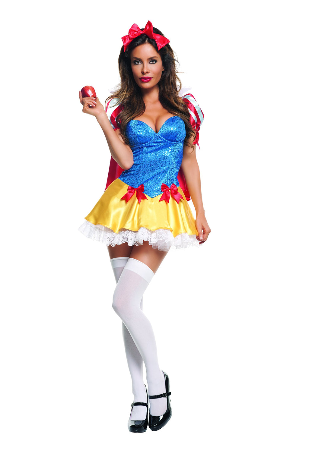 Starline Women's Sequin Snow White Costume Womens Adult Sized Costumes - Nastassy