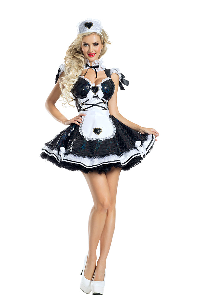 Party King Marvelous Maid Costume Womens Adult Sized Costumes - Nastassy