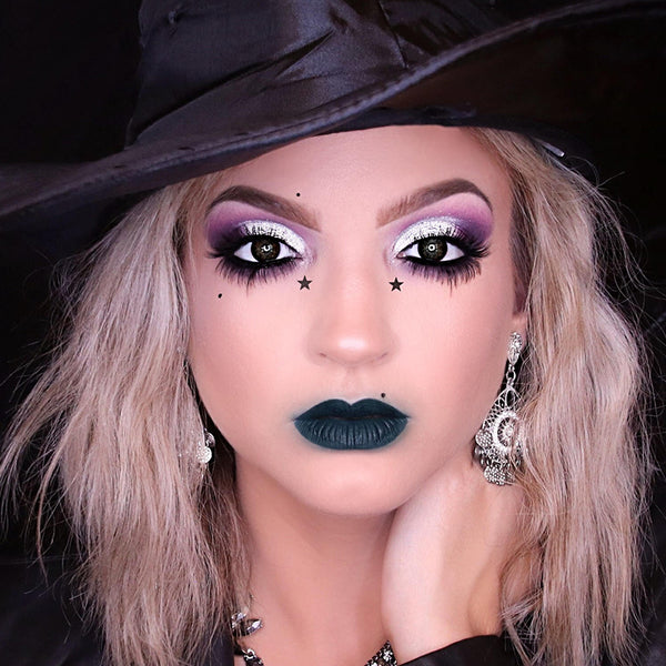 Glam Witch Makeup Tutorial