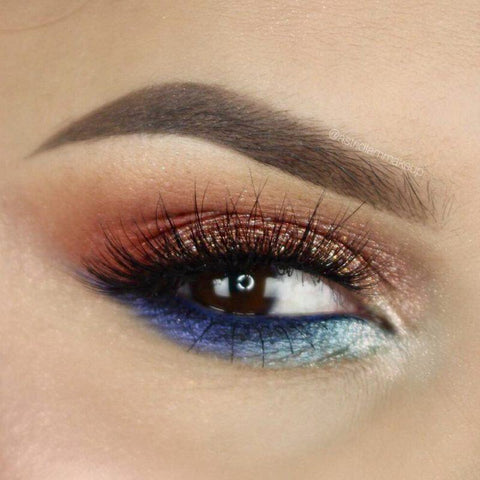 Fire And Ice Photo Tutorial Makeup Geek