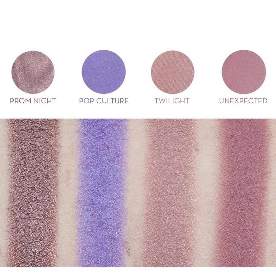 makeup geek eyeshadow pan unexpected porcelain swatches · Signature Eyeshadow