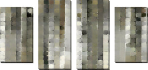 Large Canvas Wall Art Set of 4 by Mark Lawrence I Am Gone,Sets of 4,Abstract,gray art,Mark Lawrence