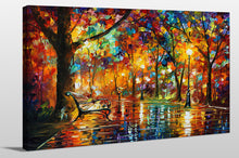 "Giclee Stretched Canvas Wall Art by Leonid Afremov ""Colorful Night"", All Canvas Art,All Subjects,Landscapes,All Colors,All Shapes,All Artists,multi-color art,Landscape Shape,Leonid Afremov"
