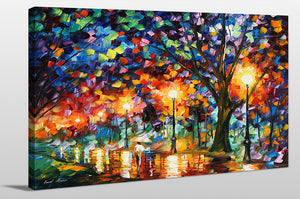 "Giclee Stretched Canvas Wall Art by Leonid Afremov ""Eternity"", All Canvas Art,All Subjects,Landscapes,All Colors,All Shapes,All Artists,multi-color art,Landscape Shape,Leonid Afremov"