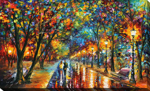 """When the Dreams Came True"" by Leonid Afremov Print on Canvas"
