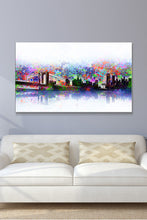 Wall Art  by Bekim Mehovic  New York Skyline Splats