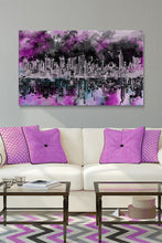 Wall Art  by Bekim Mehovic  Nyc Skyline Brush Strokes