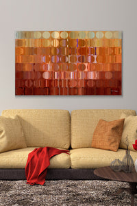 Canvas Wall Art Mark Lawrence Circles And Squares # 16
