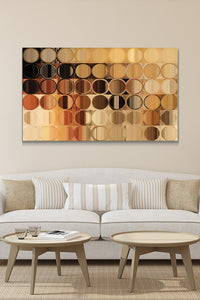 Canvas Wall Art Mark Lawrence Circles And Squares # 39