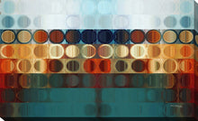 Canvas Wall Art Mark Lawrence Circles And Squares # 31