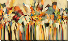 "Giclee Stretched Canvas Wall Art by Mark Lawrence ""Angels Guiding Lot. Genesis 19:15"", All Canvas Art,All Subjects,Abstract,All Colors,All Shapes,All Artists,multi-color art,Landscape Shape,Mark Lawrence"