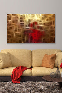 Canvas Wall Art Mark Lawrence I Give To You John 14 27