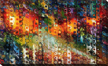 "Giclee Stretched Canvas Wall Art by Mark Lawrence ""Vision By Personal Purity"", All Canvas Art,All Subjects,Abstract,All Colors,All Shapes,All Artists,multi-color art,Landscape Shape,Mark Lawrence"