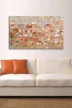 Canvas Wall Art Mark Lawrence Orange and Beige