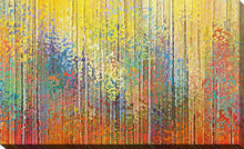 "Giclee Stretched Canvas Wall Art by Mark Lawrence ""See the Goodness of the Lord"", All Canvas Art,All Subjects,Abstract,All Colors,All Shapes,All Artists,yellow art,Landscape Shape,Mark Lawrence"