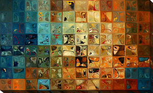 Canvas Wall Art Mark Lawrence Modern Tile Art #11 2009
