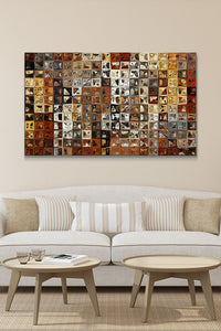 Canvas Wall Art Mark Lawrence Tile Art #1 2013