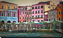 "Wall Art by Yuri Malkov ""Venice Architecture Iii"", All Canvas Art,All Subjects,Cityscapes,All Colors,All Shapes,All Artists,multi-color art,Landscape Shape,Yuri Malkov"