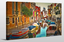 Wall Art  by Yuri Malkov  Venice Canals Xx
