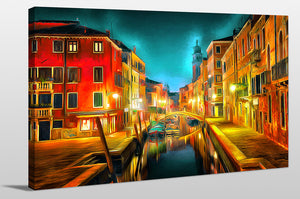 Wall Art  by Yuri Malkov  Venice Nights