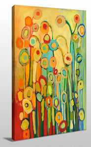 Wall Art  by Jennifer Lommers  Dance Of The Flower Pods