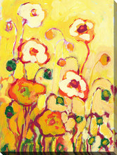 "Wall Art by Jennifer Lommers ""In The Summer Sun"", All Canavs Art,Floral,All Colors,All Shapes,All Artists,yellow art,Portrait Shape,Jennifer Lommers"