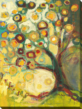 "Wall Art by Jennifer Lommers ""Tree Of Life Autumn"", All Canavs Art,Floral,All Colors,All Shapes,All Artists,yellow art,Portrait Shape,Jennifer Lommers"