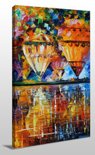 Wall Art  by Leonid Afremov  Balloon Reflections
