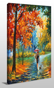 Wall Art  by Leonid Afremov  Intriguing Autumn